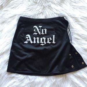 No Angel Snap Skirt🖤